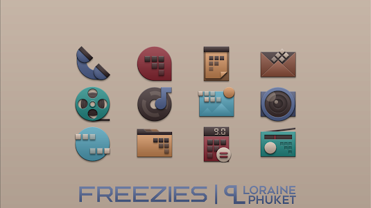 Freezies - Free icon pack 1.0.0 screenshot 1