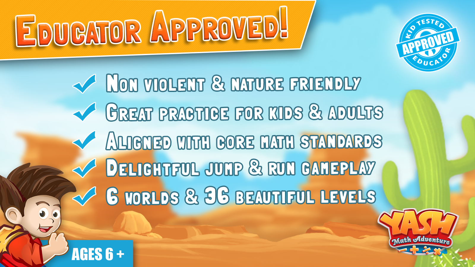 Yash Math Adventure Elementary 1.0.5 APK Download - Android ...