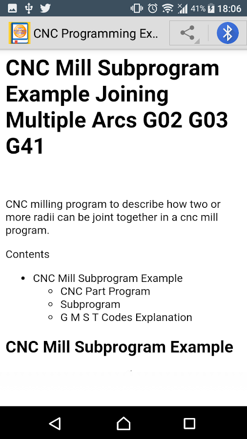 CNC Programming Examples 1 0 0 APK Download - Android Books