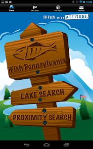 iFish Pennsylvania 2.0 screenshot 2