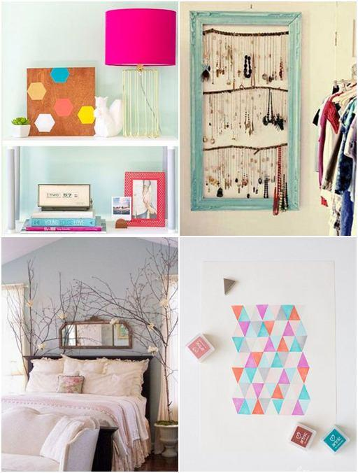 Bedroom Diy Decorating Ideas - Easy Craft Ideas