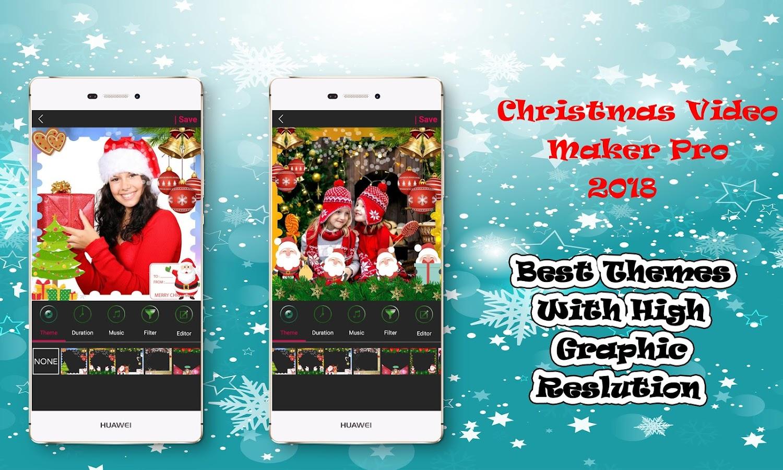 christmas video maker with music funny 2017 christmas screenshot 2