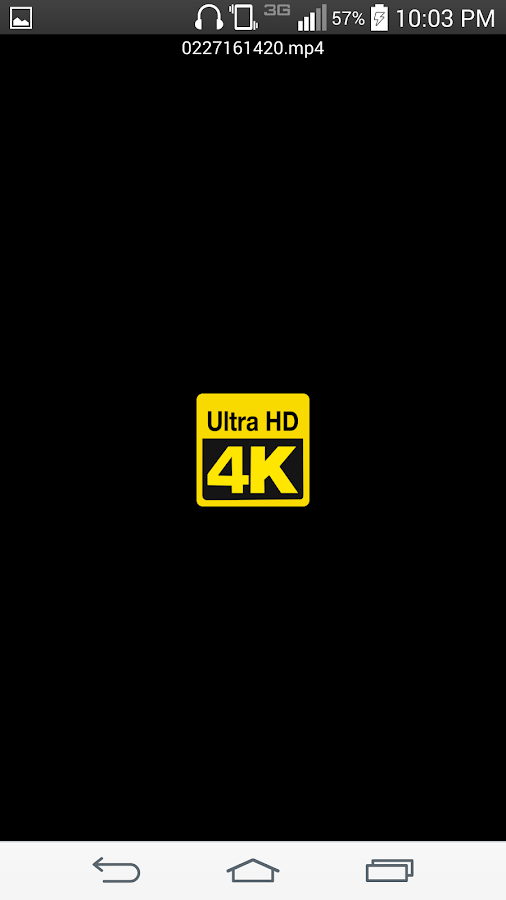 4k video player android apk