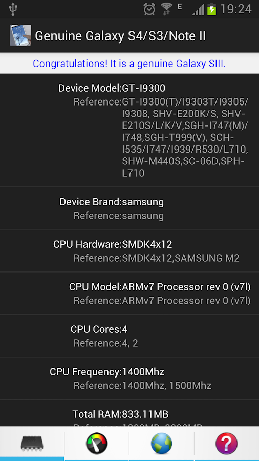 Genuine Galaxy - Phone Info 1 5 1 APK Download - Android