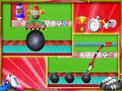 Hero Foot ball Factory Sports Shop 1.1 screenshot 11
