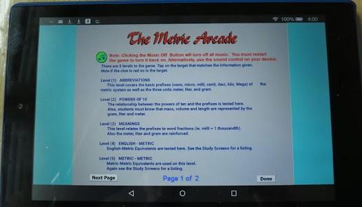 The Metric Arcade 1.0 screenshot 13