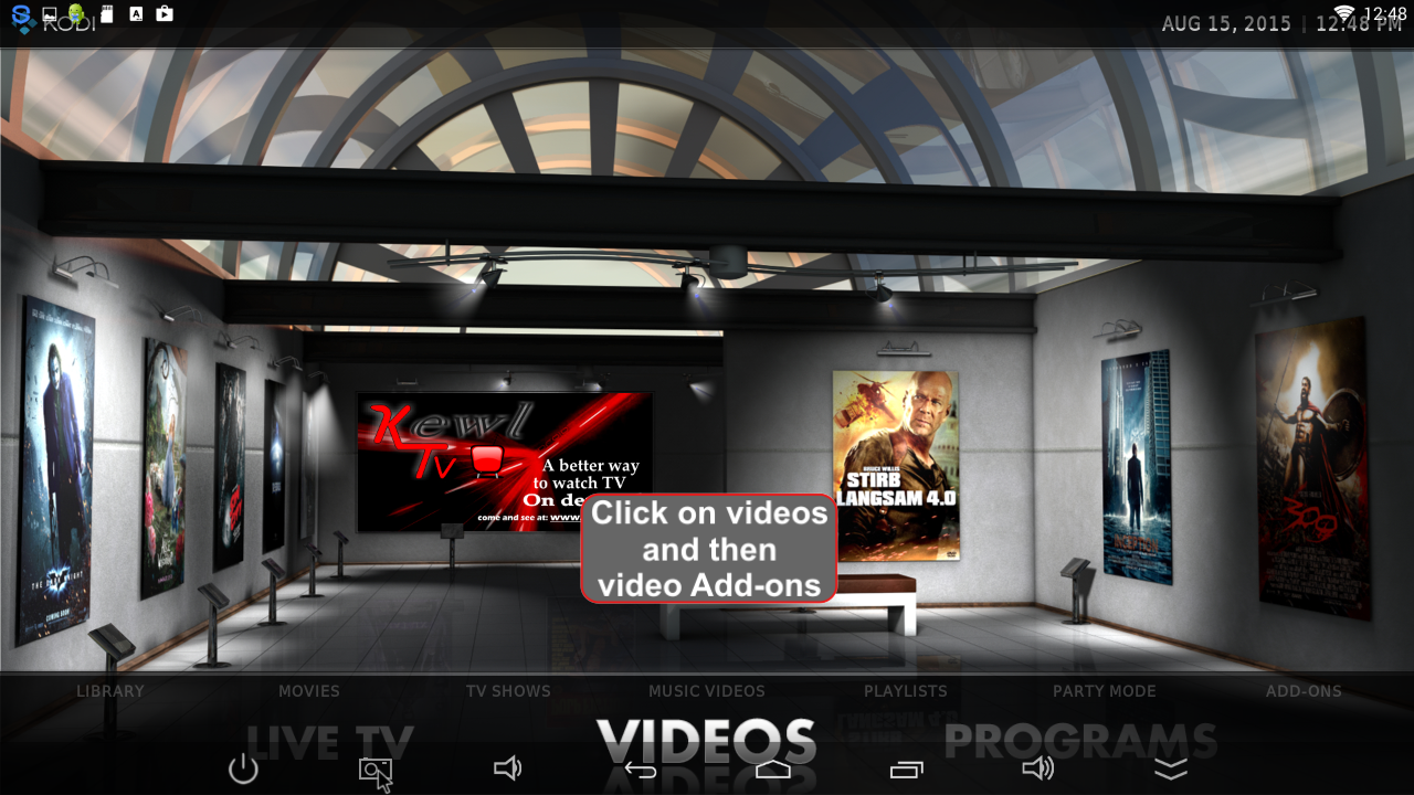 KODI KEWLTV Add-ons Updater 4 0 19 APK Download - Android Media
