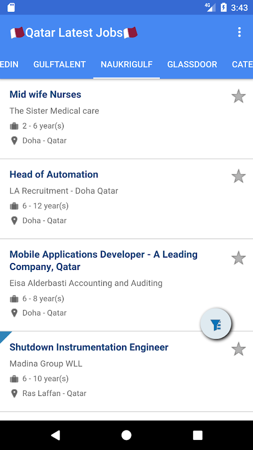 🇶🇦Jobs in Qatar🇶🇦 05 08 17 APK Download - Android News