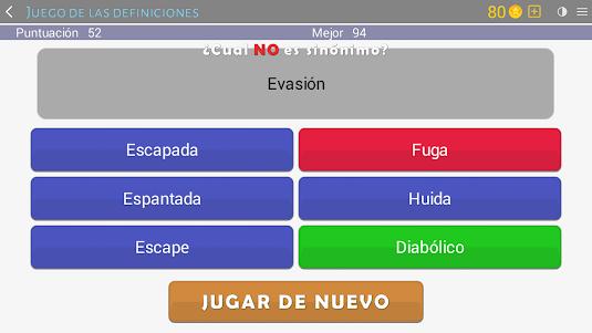 Crosswords - Spanish version (Crucigramas) 1.1.8 screenshot 16