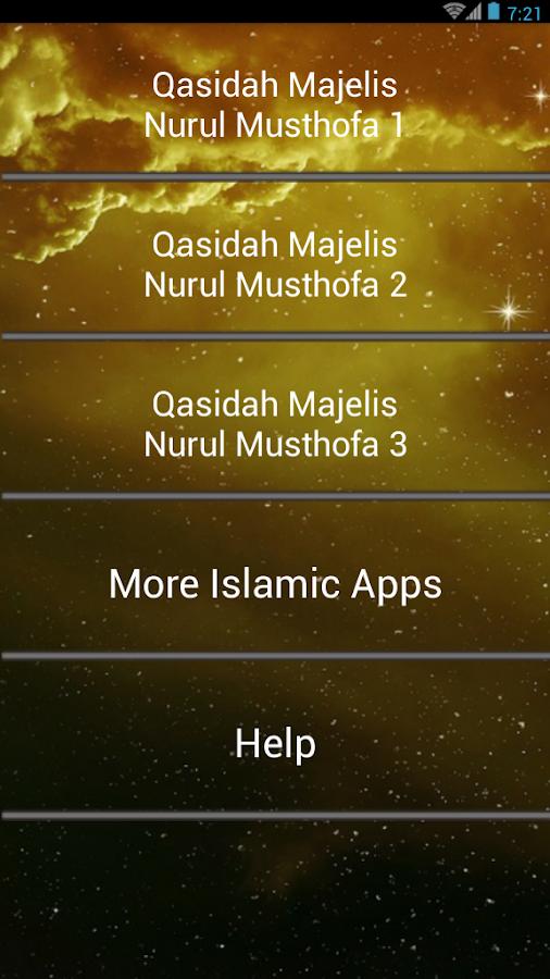 Islamic Song : Nurul Musthofa 1 0 APK Download - Android