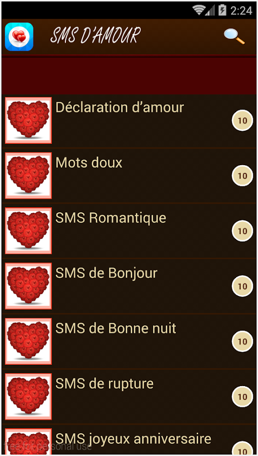 Sms Damour 16 Apk Download Android Books Reference Apps