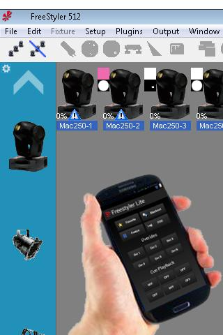 Freestyler DMX Remote FREE 3 1 APK Download - Android Productivity Apps