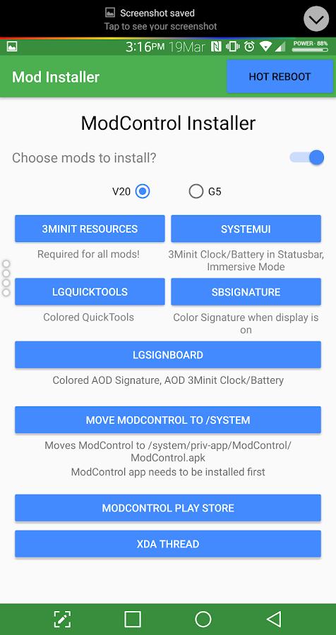ROOT] LG V20/G5 Mod Installer 2 4 APK Download - Android