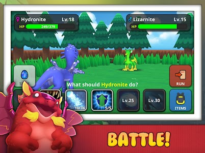 Drakomon - Battle & Catch Dragon Monster RPG Game 1.3 screenshot 8