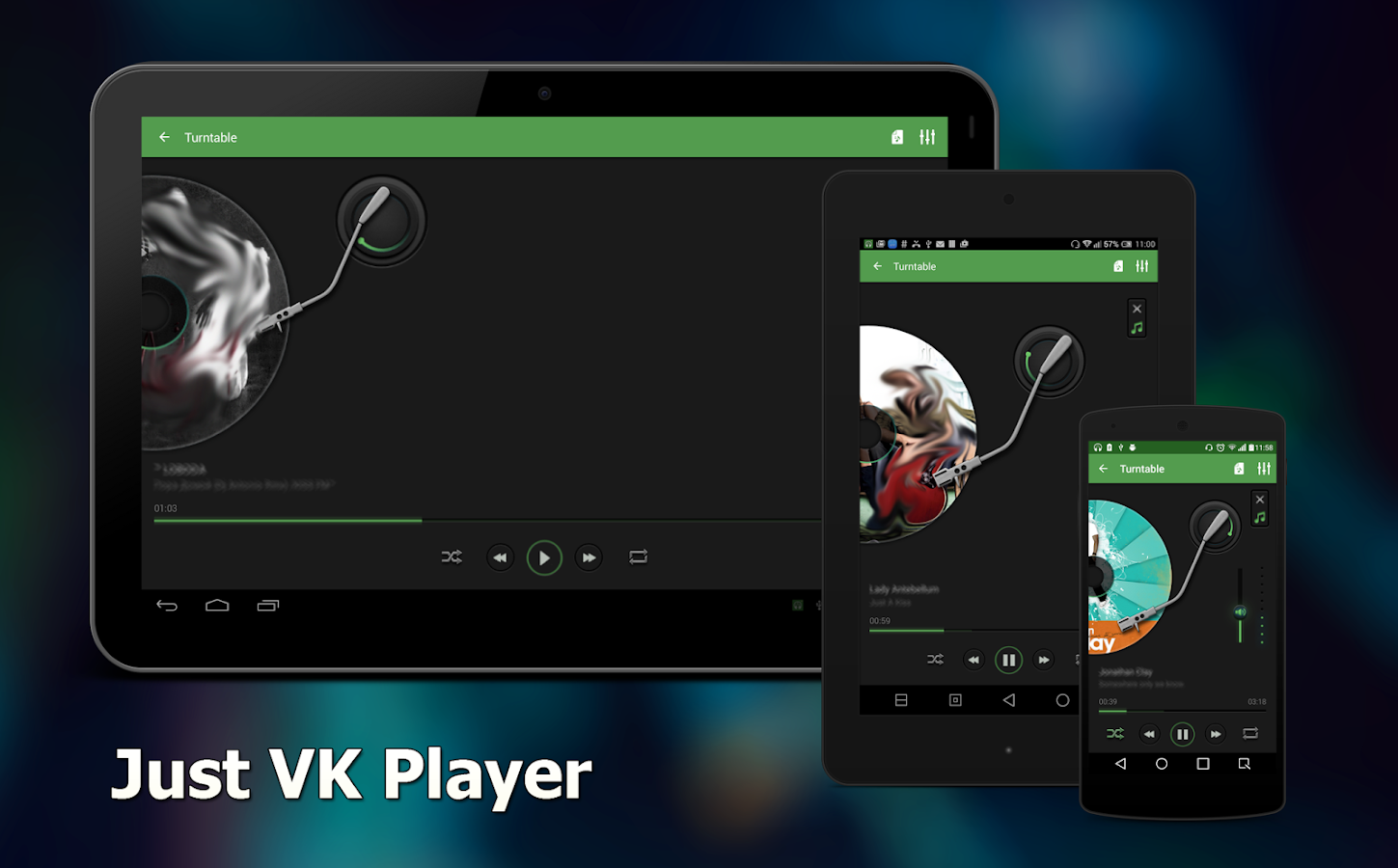 how to download audio from vk android