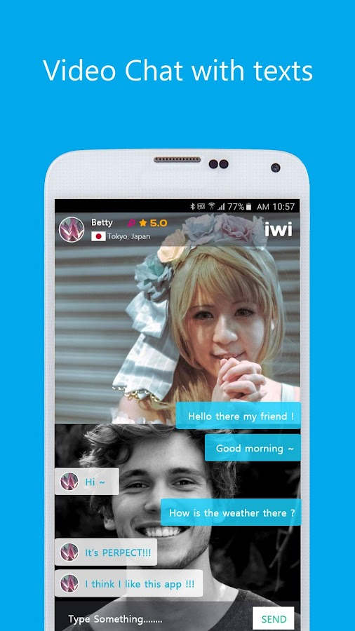 iwi - free video call and random video chat 0 5 APK Download