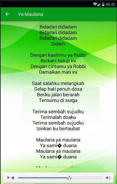 download lagu deen assalam ai khodijah mp3