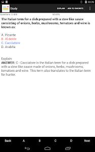CCP(Culinary) Exam Prep 1.0 screenshot 6