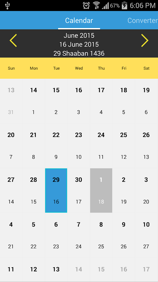 Islamic Calendar 2019, Qibla & Date Converter 3 4 APK Download