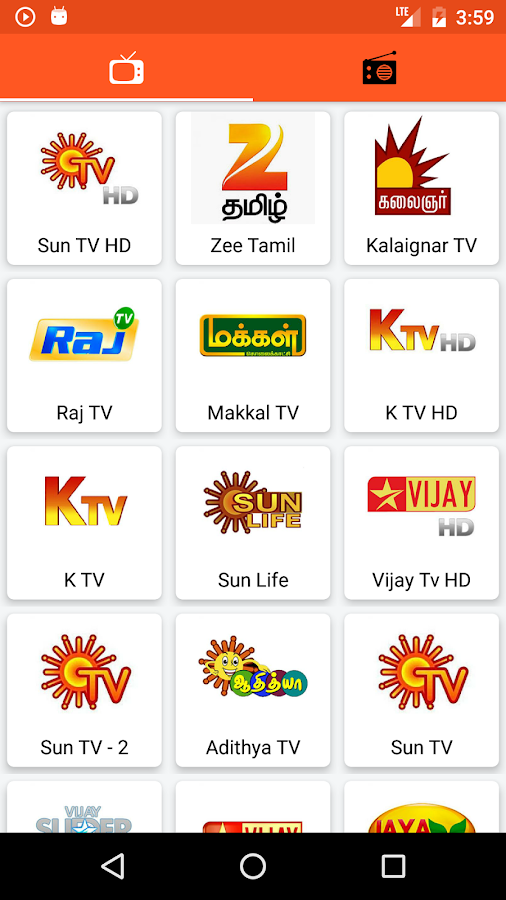 Tamil TV And Tamil FM Radio 1 7 APK Download - Android