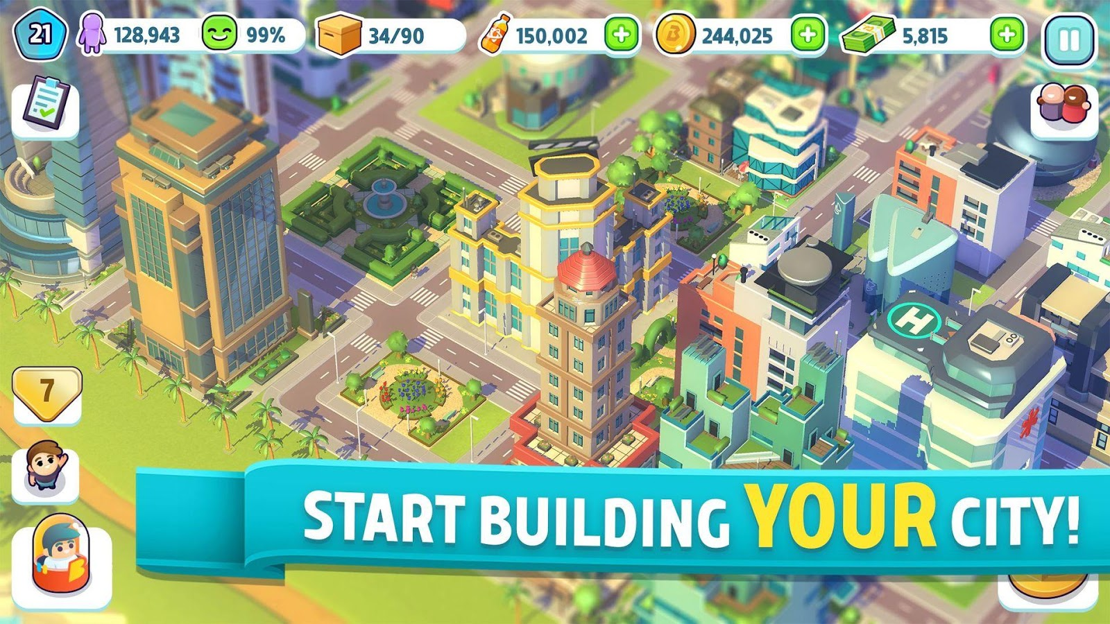 City Mania: Town Building Game 1 9 1a APK Download - Android