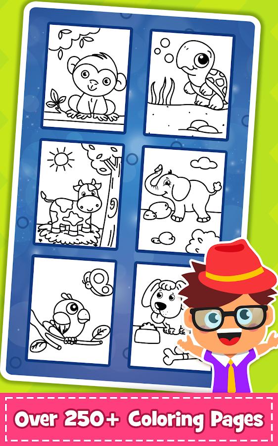 Coloring Games PreSchool Book For Kids 16 Screenshot 2