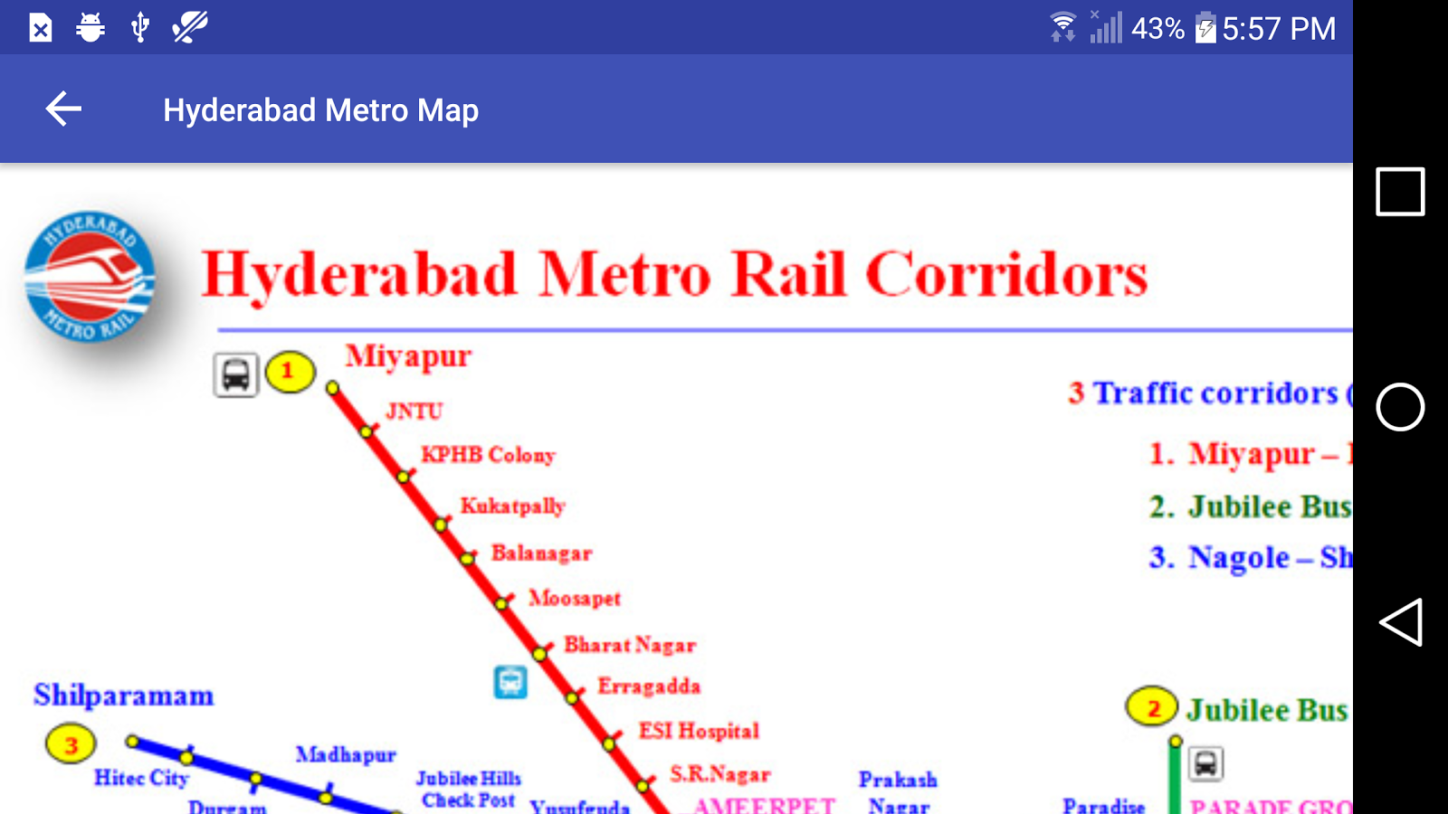 Subway Map 1 Train Route.Hyderabad Metro Rail Map 1 0 Apk Download Android Travel Local Apps