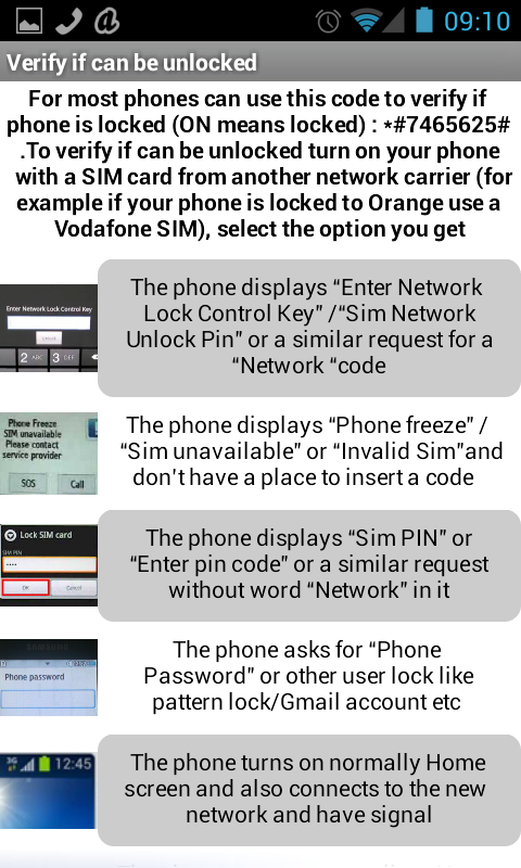 Samsung unlock codes 1 1 APK Download - Android Communication Apps