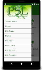 Score & Info of PSL - Pakistan Super League 1.0.2 screenshot 3