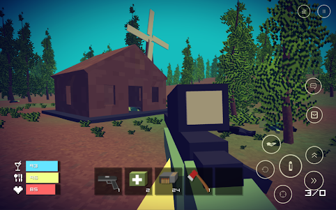 Pixel Day - Unturned Z 1.03 screenshot 1