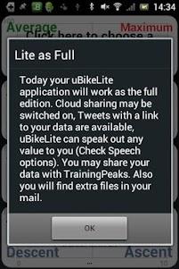 uBikeLite 1.4.8 screenshot 5