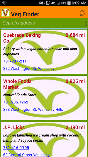 Veg Finder 4 0 APK Download - Android Travel & Local Apps