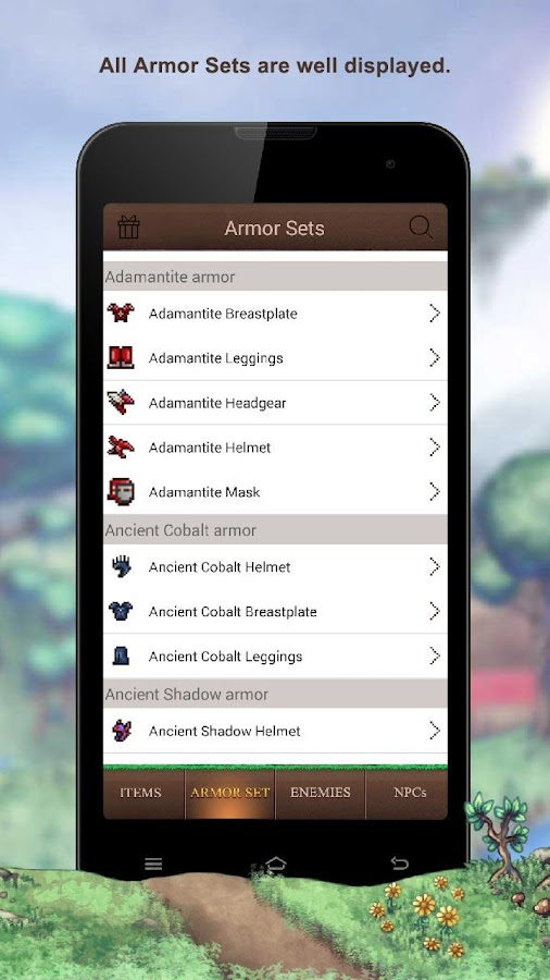 Wiki guide Terraria 1 2 APK Download - Android Books
