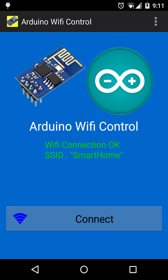 Arduino wifi control esp apk download android