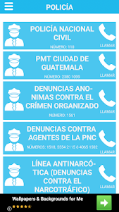 GUATE 911: Números de emergencia de Guatemala 4.0.0 screenshot 4