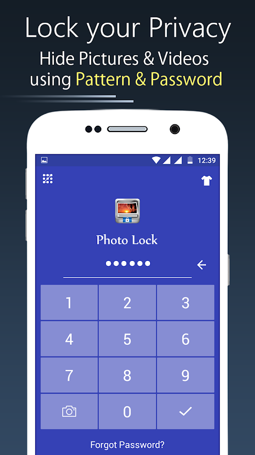 Photo Lock App - Hide Pictures & Videos 55 0 APK Download - Android