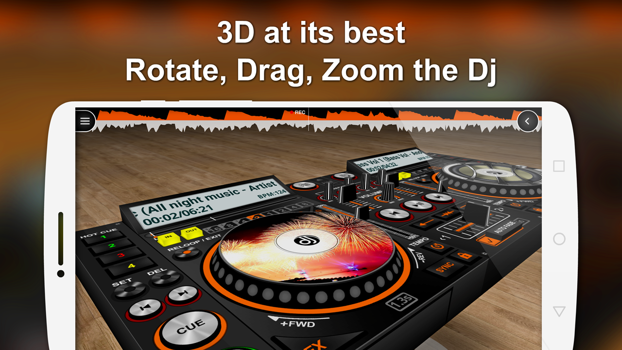 DiscDj 3D Music Player - 3D Dj Music Mixer Studio v4 007s APK