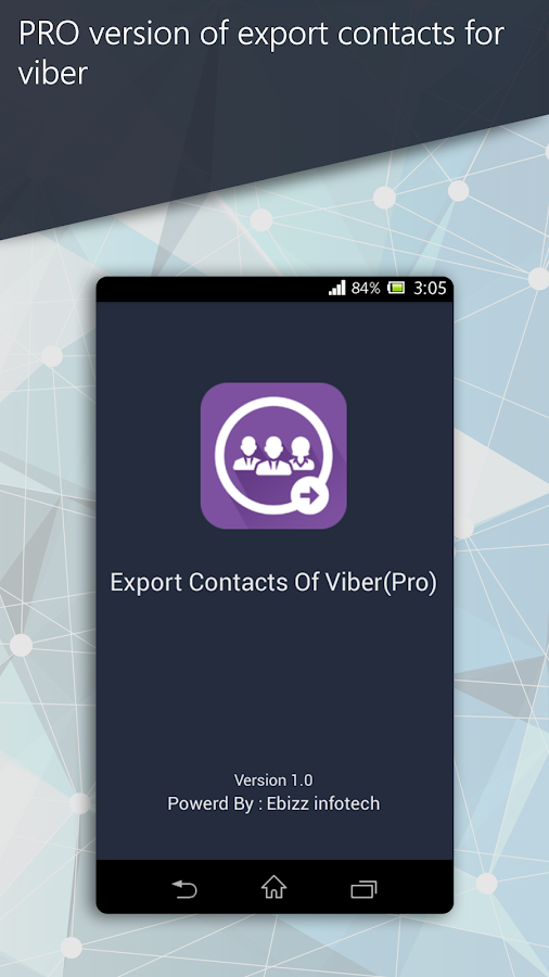 Export Contacts Of Viber Pro 1 3 APK Download - Android