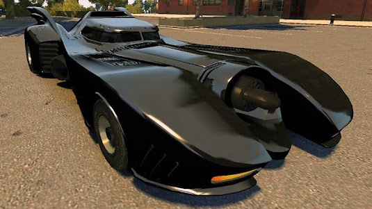 Driving The Batmobile 1.1 screenshot 7