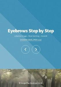 Eyebrows Step by Step 2.1 screenshot 1