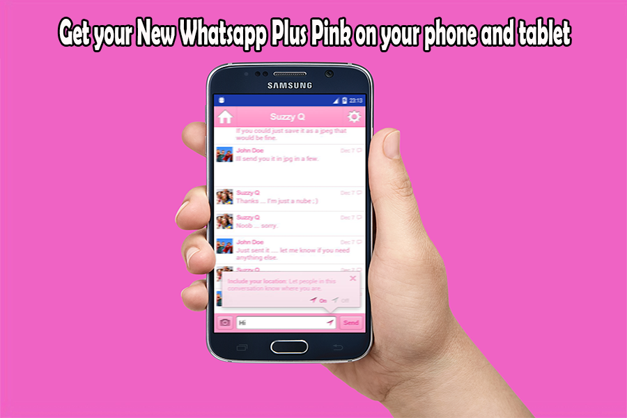 New Whatsapp Plus Pink Guide 1 0 APK Download - Android