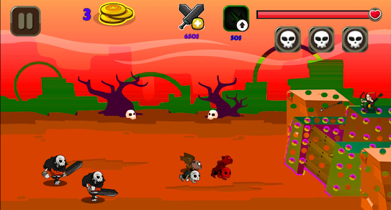 Monster Attack on Fort 1.4 screenshot 1