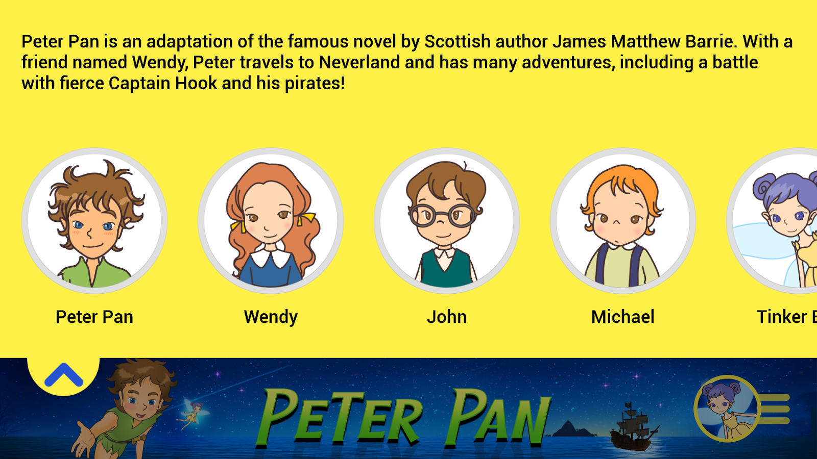 Peter Pan - Storybook 1.2.2 APK Download - Android ...