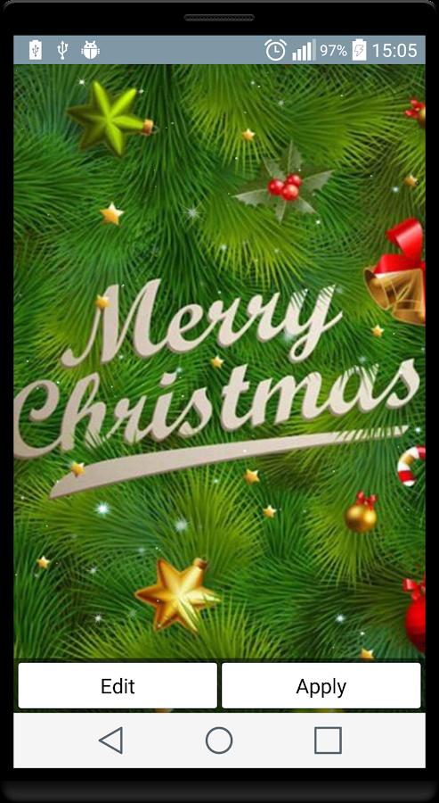 christmas hd live wallpapers 16 screenshot 1 - Christmas Hd Live Wallpaper