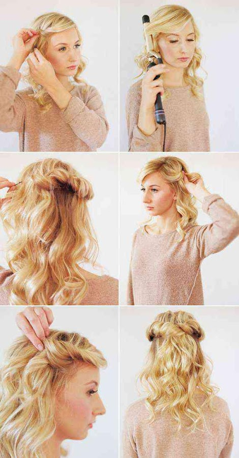 Easy Hairstyle Step By 10 Screenshot 13