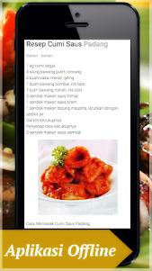 Masakan Cumi - Kumpulan Resep Masakan Cumi Lengkap 1.0 screenshot 2