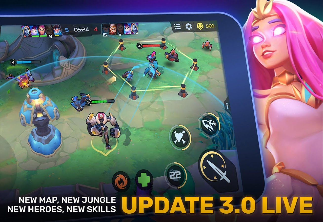 Planet of Heroes - MOBA 5v5 3 12 APK + OBB (Data File) Download