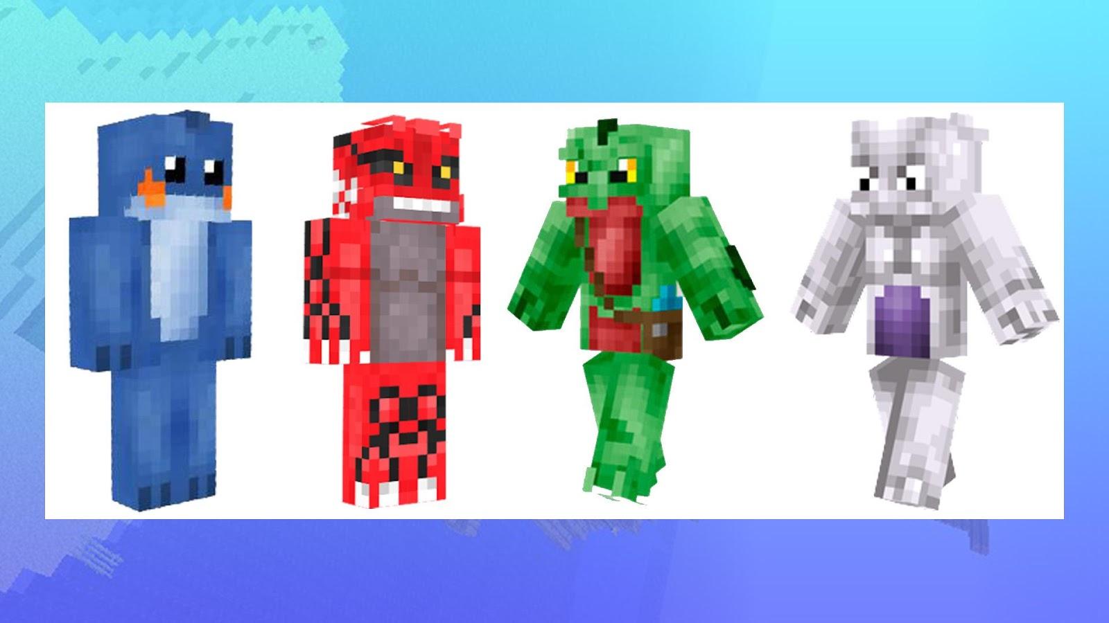 Skins For Minecraft Pokemon APK Download Android - Skin para minecraft pe de pokemon
