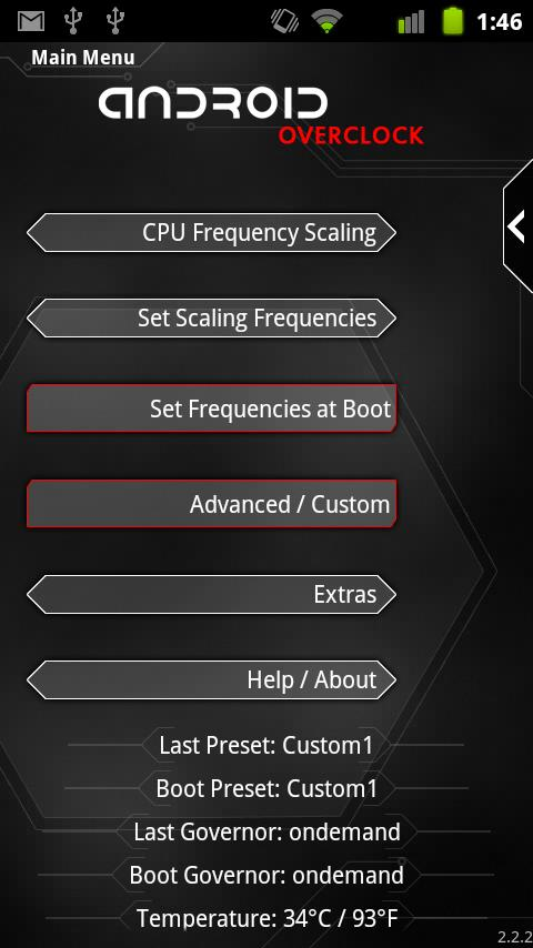Overclock for Android 2 4 0 APK Download - Android Tools Apps