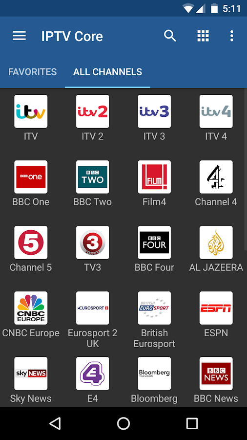 IPTV Core 4 3 2 APK Download - Android cats video_players_editors Apps